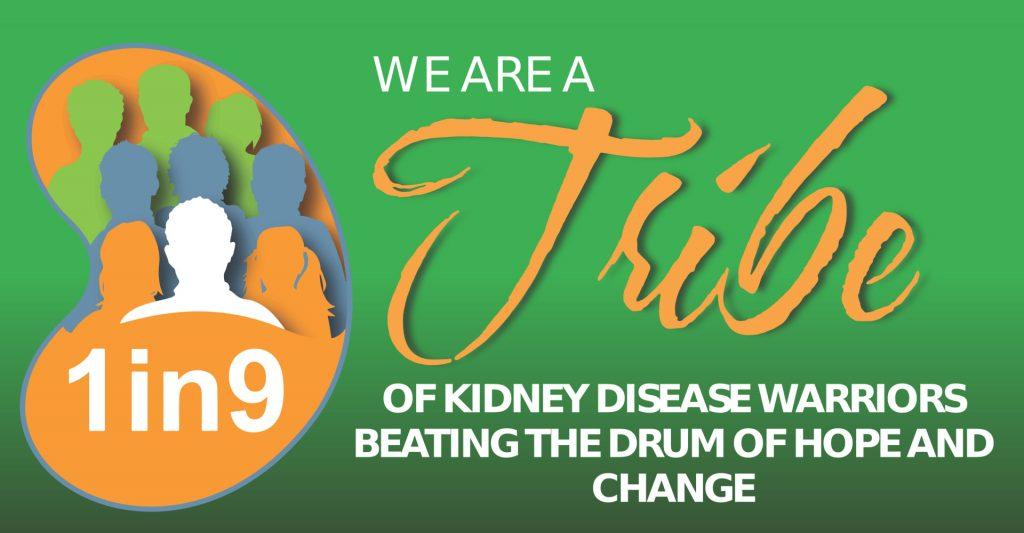 1in9 kidney challenge banner