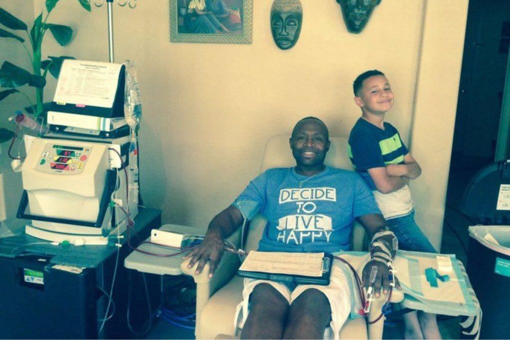 Raymond Scott on Dialysis